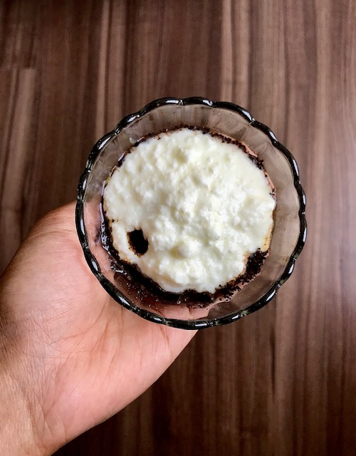 Coconut oil Coffee powder Self care Anya Abraham