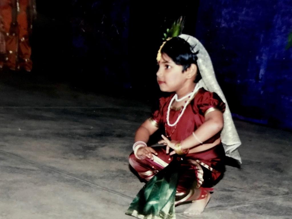 Dance  Bharatanatyam Anya Abraham